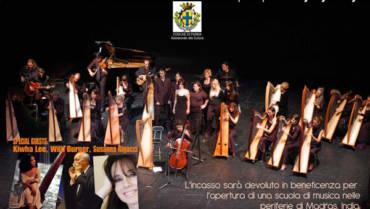 Celtic Harp Orchestra in concerto al Teatro Regio di Parma