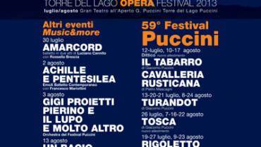 Opera Festival 2013: il programma
