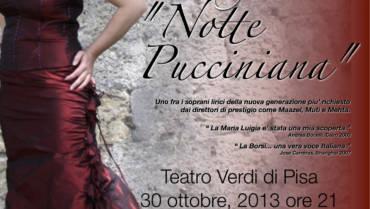Notte Pucciniana. Serata di beneficenza al Teatro Verdi
