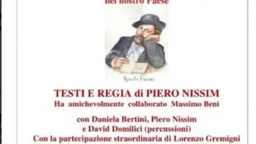 """Fondazione Arpa patrocina lo spettacolo """"PRIMA I PISANI"""""""