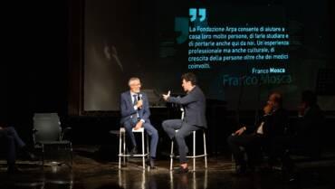 Grande successo per la serata dedicata alla memoria del Prof. Franco Mosca al Teatro Rossini