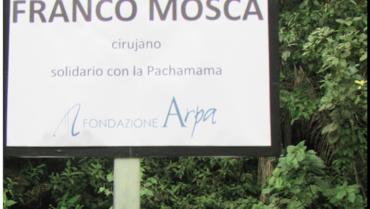Un ponte che unisce natura e civiltà intitolato al Prof. Franco Mosca in Ecuador