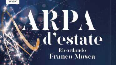 """Tutto pronto per """"Arpa d'Estate – Ricordando Franco Mosca"""": una grande serata di raccolta fondi con arte e musica il 24 giugno al Giardino Scotto"""